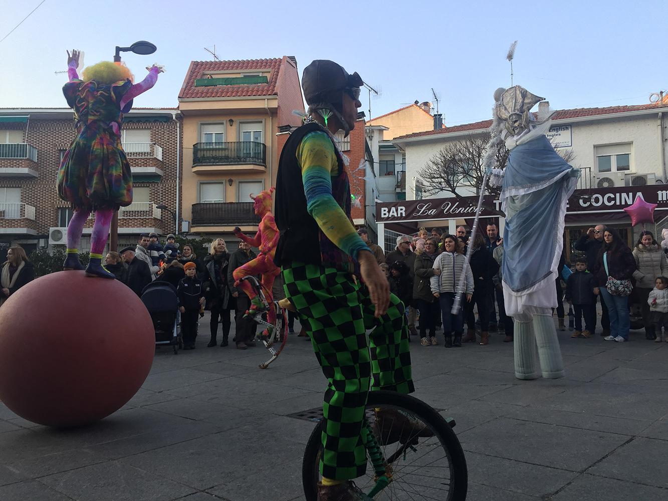 Cabalgata Reyes Magos - Funambulista