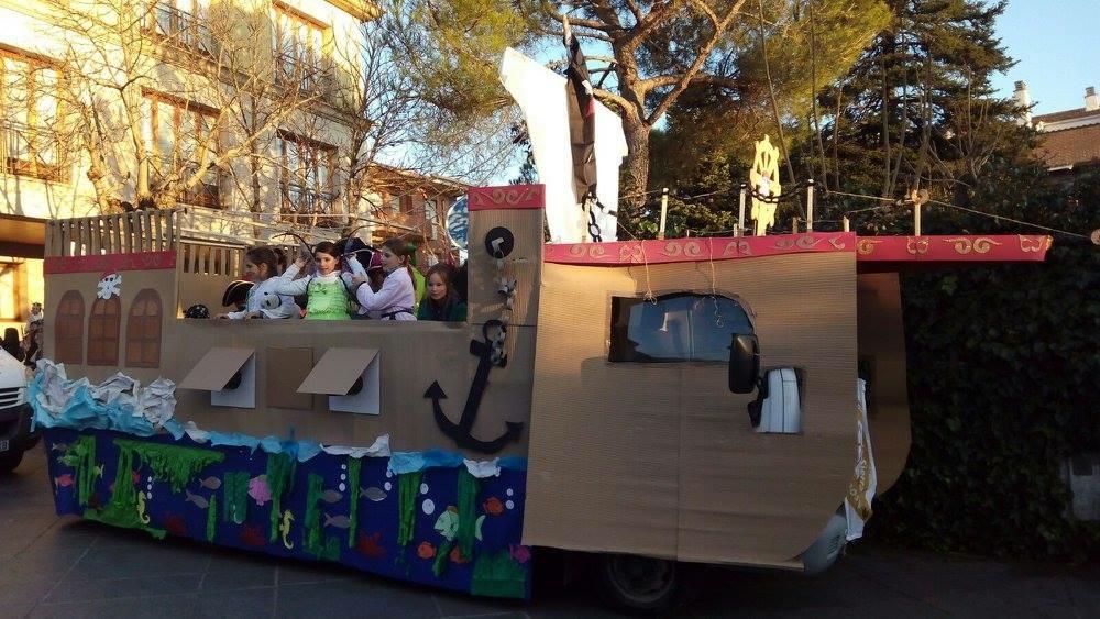 Carroza Cabalgata de Reyes