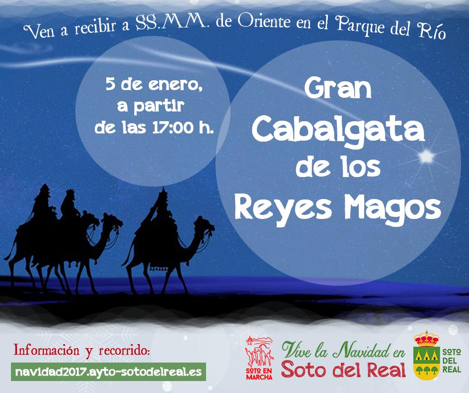 Cartel Cabalgata de Reyes