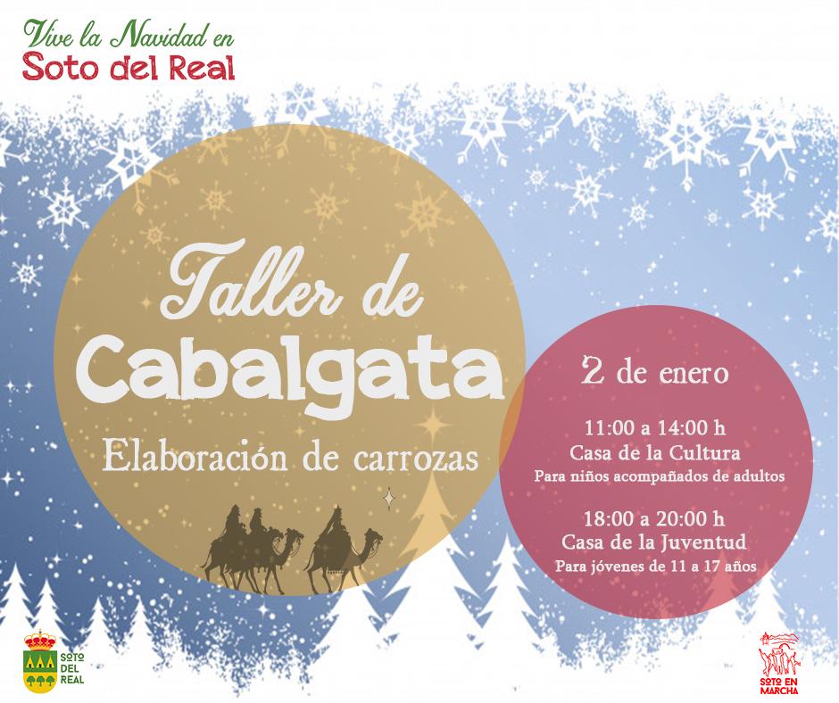 Cartel Taller Cabalgata 2ene