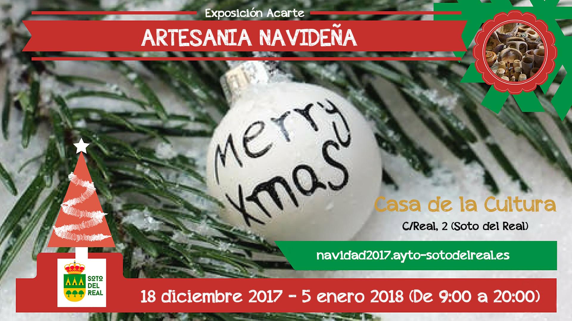 Exposición Acarte Artesania Navideña