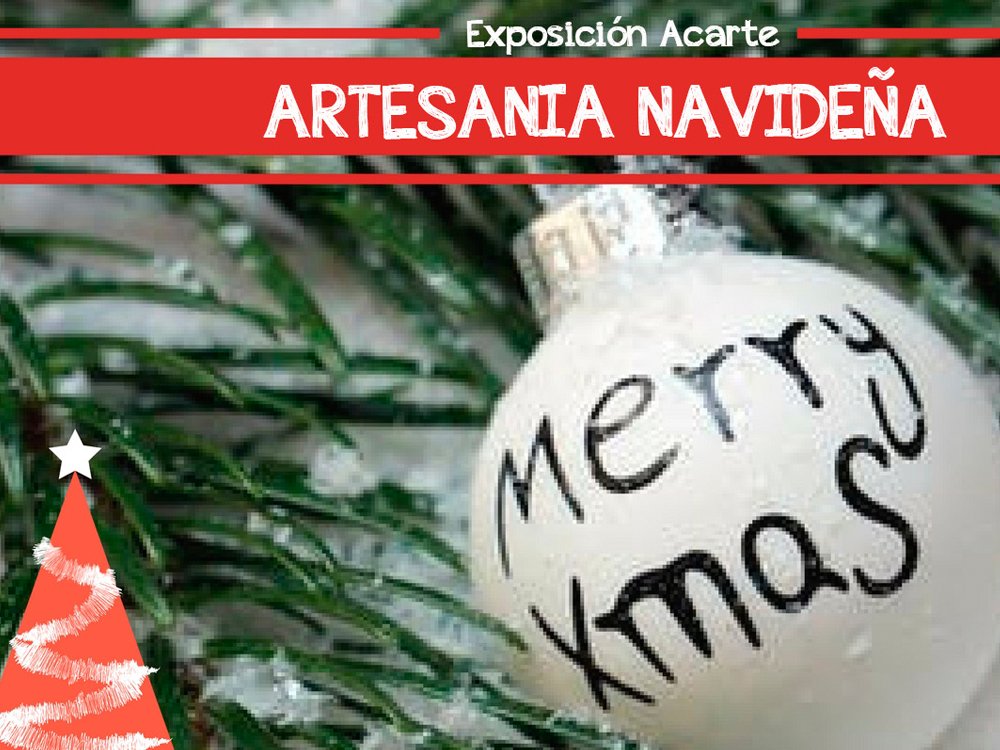 Exposión Artesania navideña