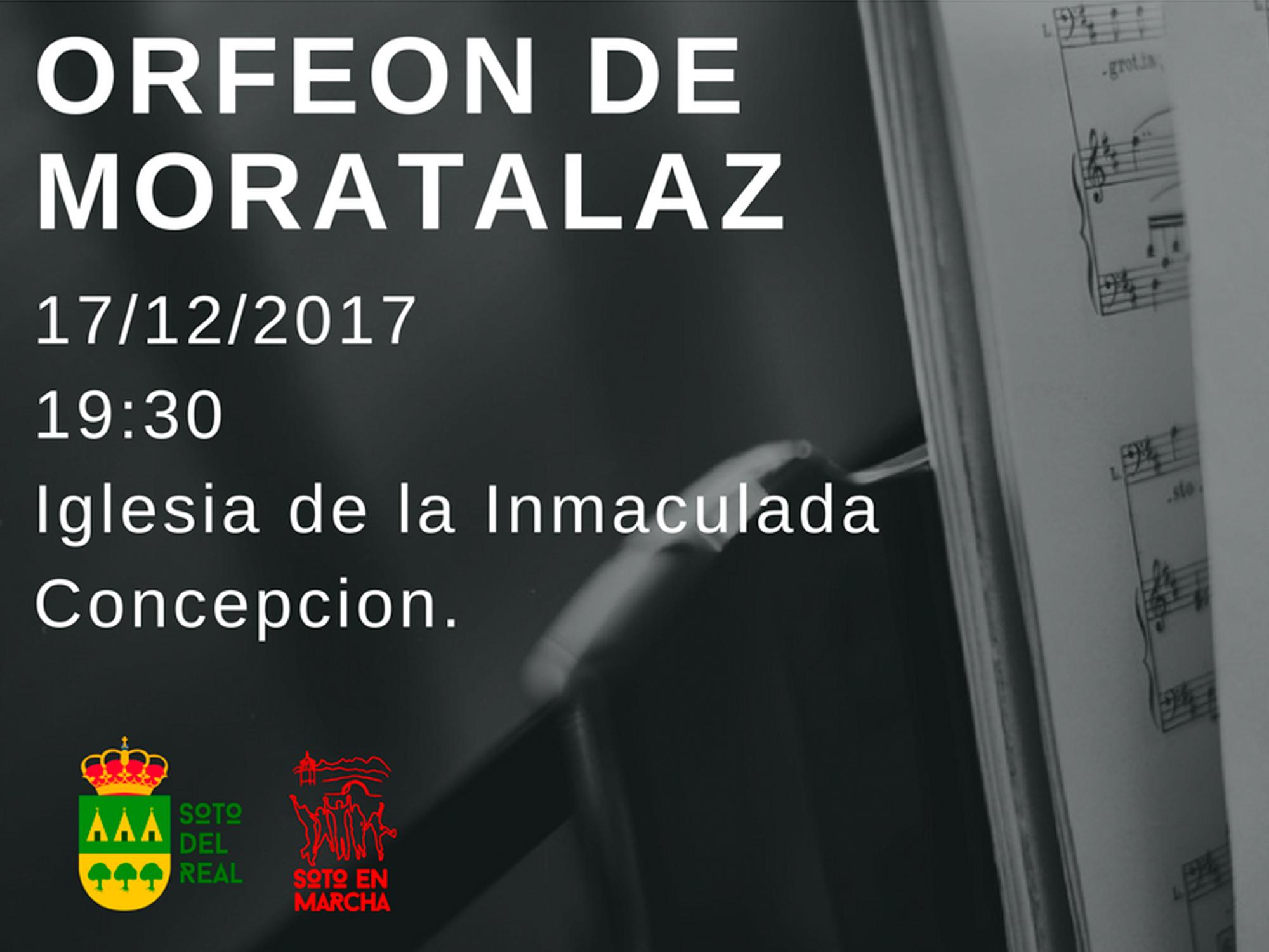 Concierto Orfeón de Moratalaz