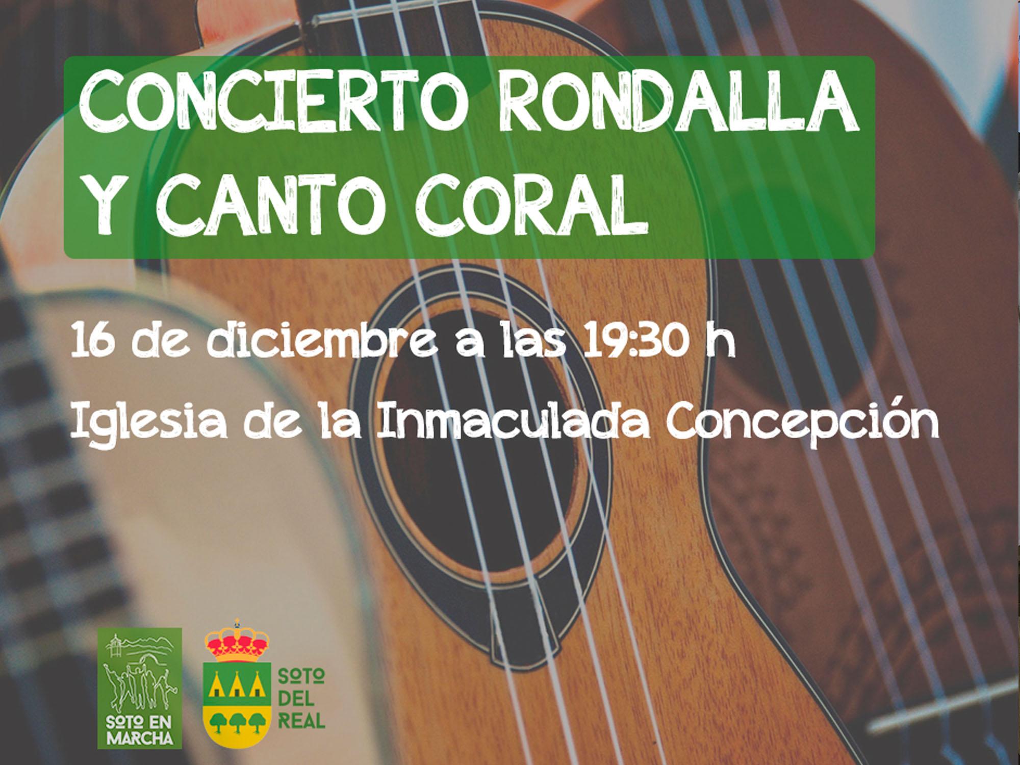 Concierto Rondalla y Coral, escuela de Música
